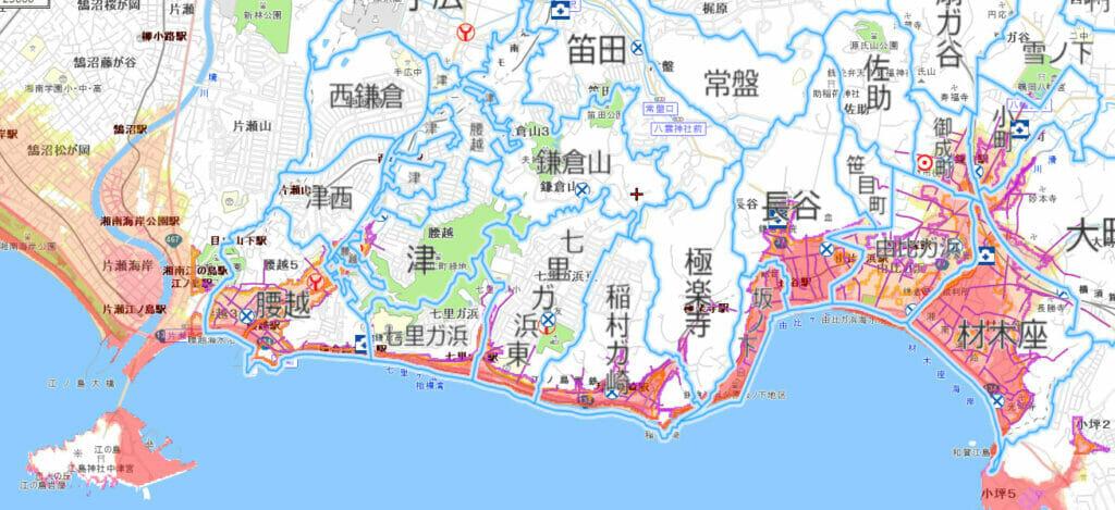 津波の被害予測
